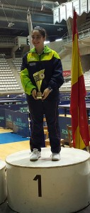 Adriana, campeona alevín